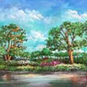 Summer In The Garden Of Eden Art Print