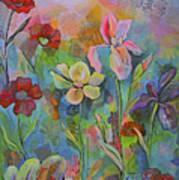Garden Of Intention - Triptych Center Panel Art Print