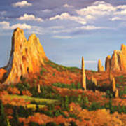 Garden Of The Gods Art Print
