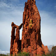Garden Of The Gods Tower Formation Art Print