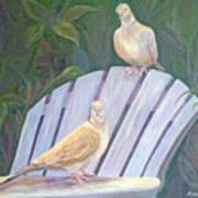 Garden Pals Art Print