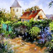 Garden Pleasures Art Print