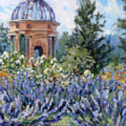 Garden Profusion - Lavendar Art Print