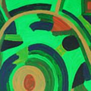 Garden project Art Print