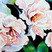 Garden Roses Art Print