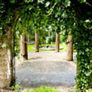 Garden Ruins Art Print