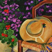 Garden Scene Art Print
