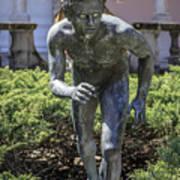 Garden Statue Ringling Museum  Art Print