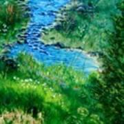 Garden Stream Art Print