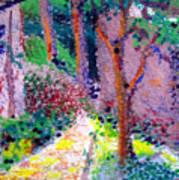 Garden Tour Art Print