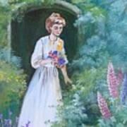 Garden Walk - B Art Print