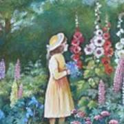Garden Walk - C Art Print