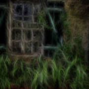 Garden Window 2 Art Print