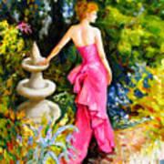 Garden1 Art Print