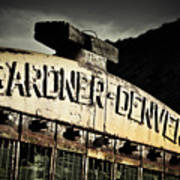 Gardner Denver Art Print by Merrick Imagery