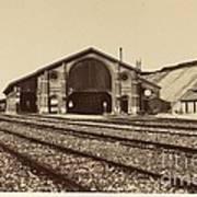 Gare De Longueau Art Print