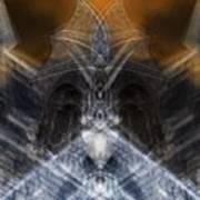 Gargoyle Priestess  Art Print