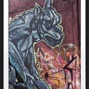 Gargoyle Madness Art Print