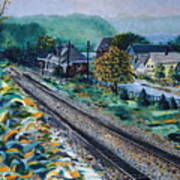 Garrison Station Art Print