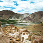 Garuda Valley Tibet Yantra.lv Art Print