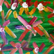 Gary's Flowers Art Print