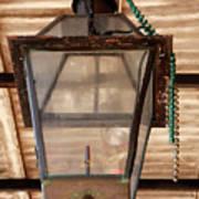 Gas Lamp French Quarter Art Print
