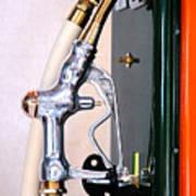 Gas Pump Handle Art Print