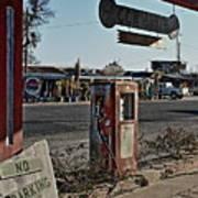 Gas Station Art Print
