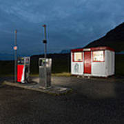 Gas Station In The Countryside, South Art Print