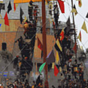 Gasparilla Ship Poster Art Print