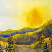 Gassaway Sunset Art Print