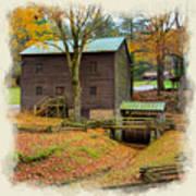 Gastons Mill 2 Art Print