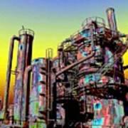 Gasworks Park 1 Art Print
