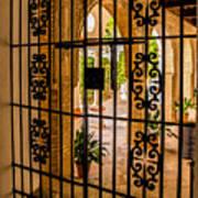 Gate - Alcazar Of Seville - Seville Spain Art Print