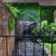 Gate And Arch Art Print