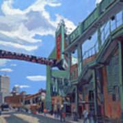 Gate C Art Print by Deb Putnam