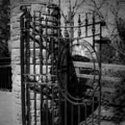 Gate In Macroom Ireland Art Print