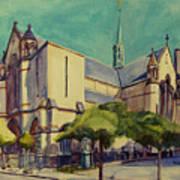 Gate Of Heaven Church Art Print