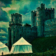 Gate Tower At Warwick Castle Art Print