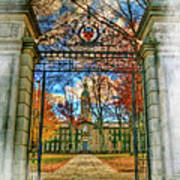 Gates To Knowledge Princeton University Art Print