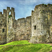 Gateway To Chepstow Castle Art Print