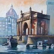 Gateway To India Art Print