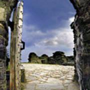 Gateway To The Castle  Art Print