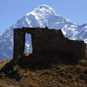 Mt Veronica And Inti Punku Sun Gate Art Print
