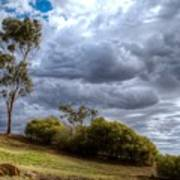 Gathering Storm Clouds Art Print