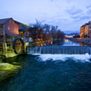 Gatlinburg Mill Art Print
