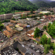 Gatlinburg Tennessee Art Print
