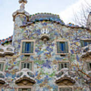 Gaudi Architecture  Art Print