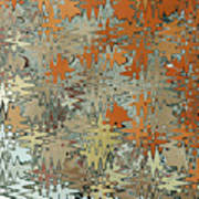 Gaudi Mozaic Abstraction Art Print