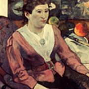 Gaugin: Marie Derrien, 1890 Art Print